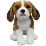 "Beagle soft and cuddly 6.5"" pocket dog"