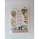 Border Collie Cartoon Card with Verse