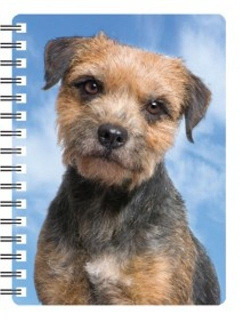 Border Terrier Terrier 3D Notebook