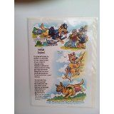 GERMAN SHEPHERD CARD with VERSE