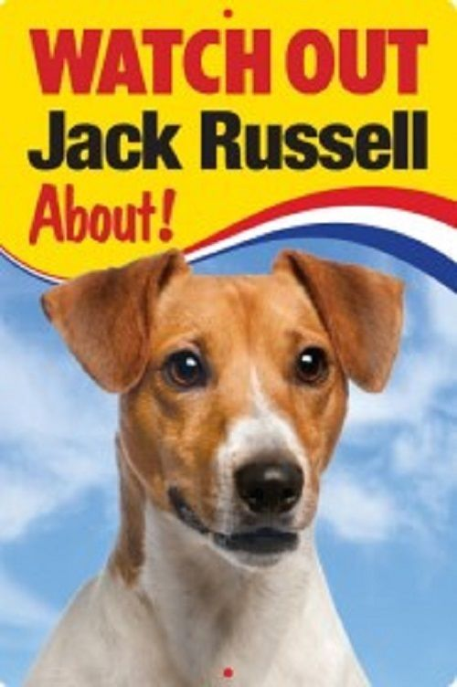 JACK RUSSELL  3D  DOG SIGN