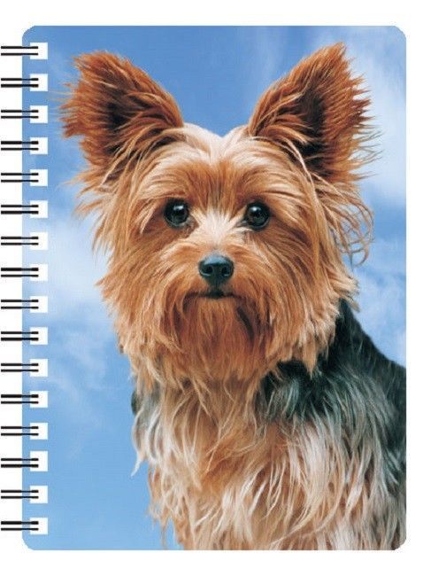 Yorkshire Terrier 3D Notebook Yorkie