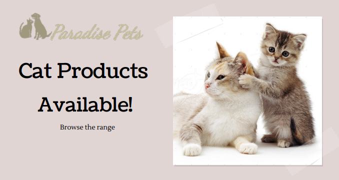 Cat Products Promo