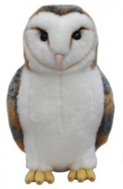 Barn Owl Cuddly toy approximately 12""