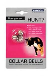bells pack of three for cats collar