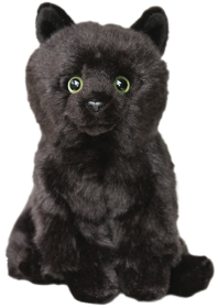 Black Cat soft and cuddly 12 inch toy