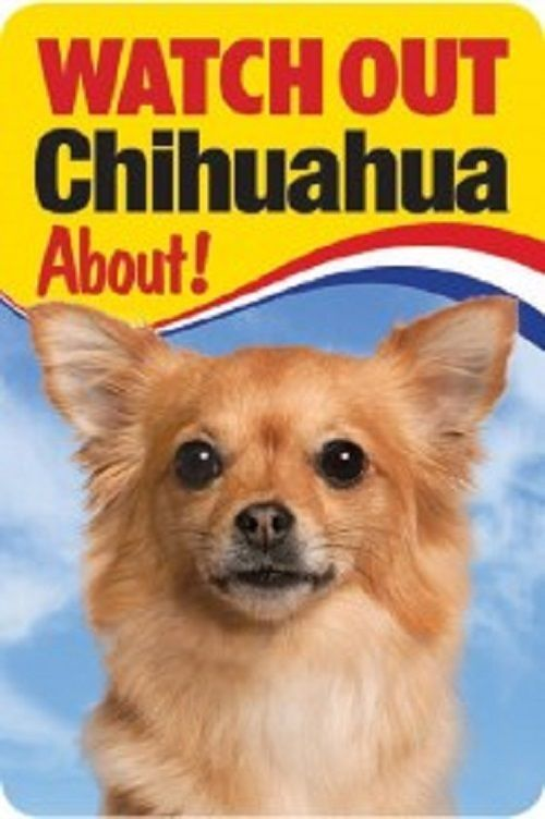 CHIHUAHUA 3D  DOG SIGN