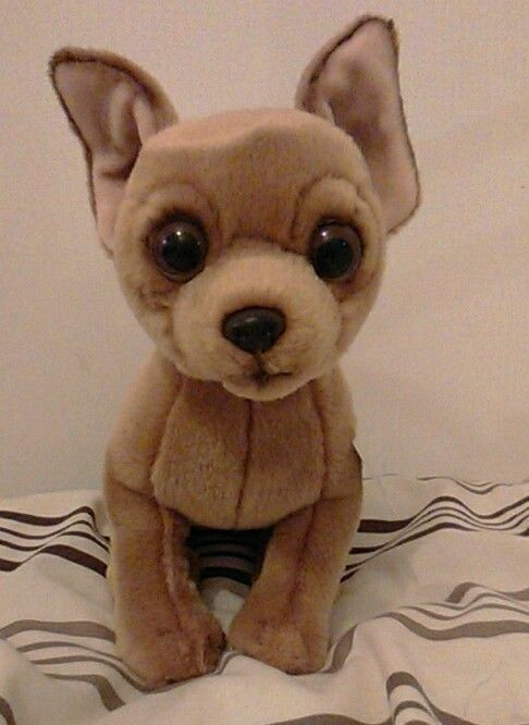 "CHIHUAHUA SOFT AND CUDDLY 12"" TOY"