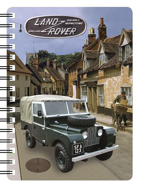 Land Rover Series one landy 3D Notebook