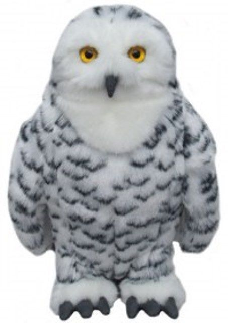 Snow Owl Cuddly toy 12""