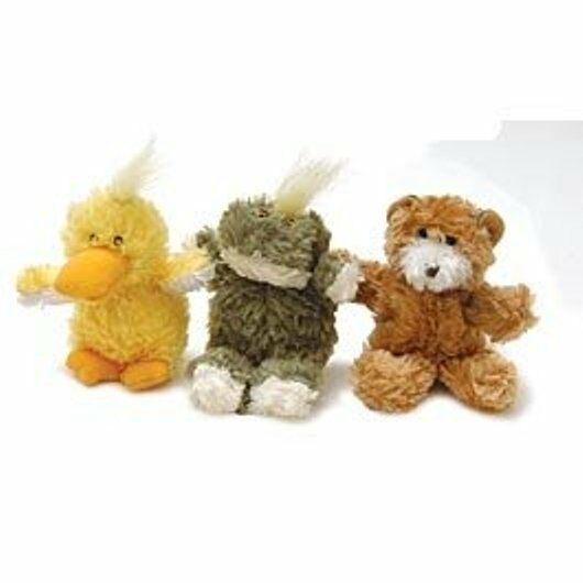 SQUEAKY DOG SOFT KONG TOY PUPPY TOY EXTRA SMALL BEAR or DUCK