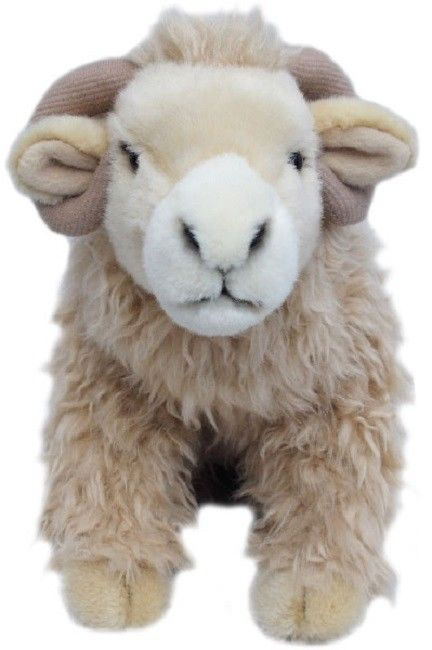 White faced sheep Cuddly toy 12""